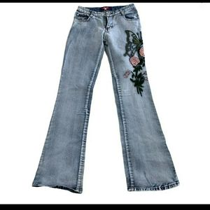 Gina embroidered jeans women's size 26